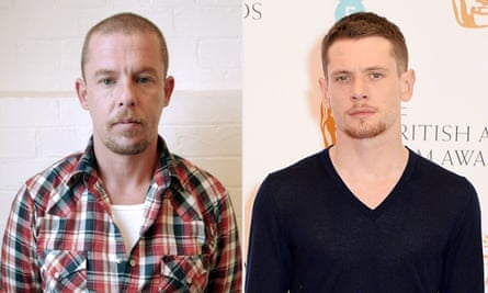 Alexander McQueen, left, is to be portrayed in a forthcoming biopic by Jack O'Connell.