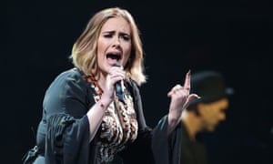 Adele's albums top charts after Glastonbury performance