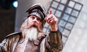 Don Quixote to the very life … David Threlfall in the RSC's adaptation of Cervantes's novel.