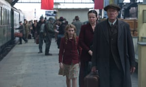 The Book Thief  Sophie Nélisse, Geoffrey Rush and Emily Watson.
