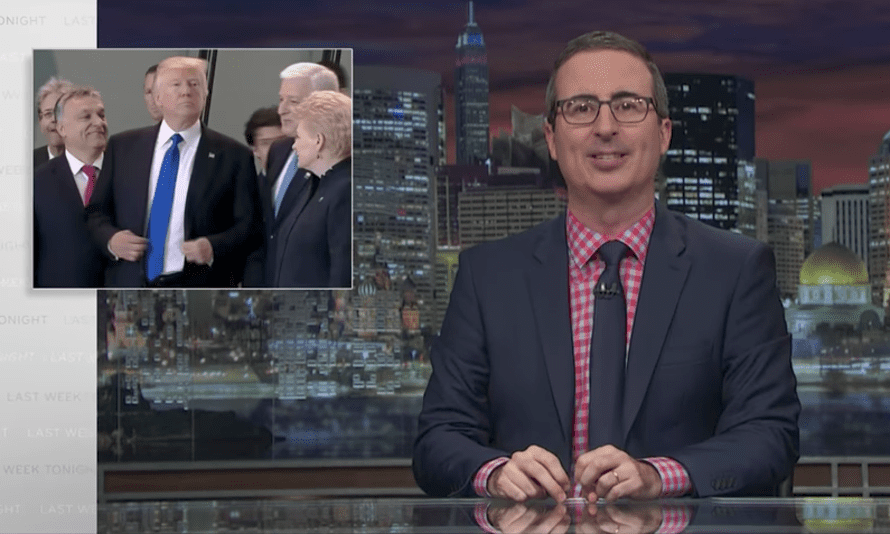 """John Oliver on Trump: """"It is staggering how incoherent he is"""""""
