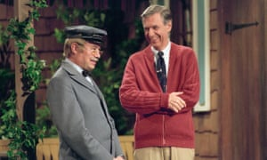 An elegant tribute … Fred Rogers, right, in Won't You Be My Neighbor?