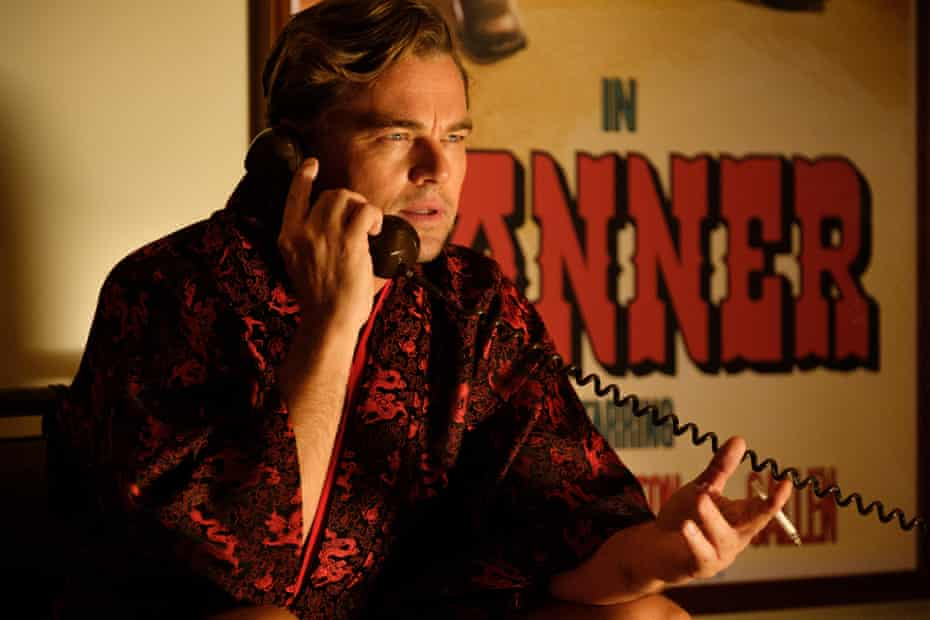 Leonardo DiCaprio in Once Upon a Time in Hollywood.