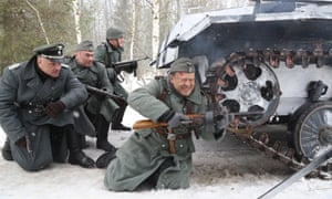 Snow patrol … Enemy Lines.