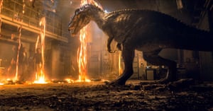 Jurassic World: Fallen Kingdom was touted for its sustainable shoot.