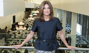Natalie Massenet at the Net-a-Porter offices.