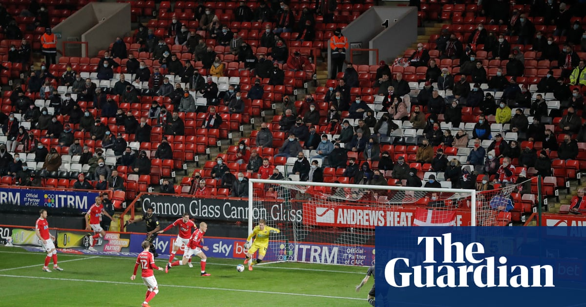 This is my release: Charlton fans return to the Valley as lockdown lifts