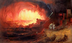 John Martin (1789-1854) painted this picture – but what does it depict?