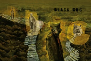 Illustration from Black Dog – the Dreams of Paul Nash by Dave McKean