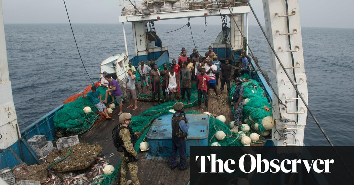 The vanish: Ghana's defenders face new perils in fight against overfishing