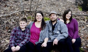 The Shepherd family: Sara and Jon Shepherd and their children, Kressa and Kai.
