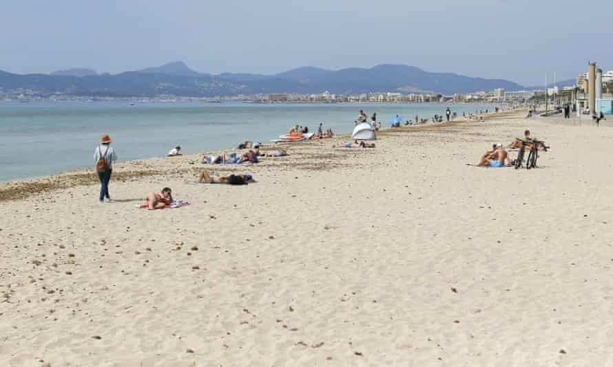 Playa de Palma in Mallorca, Spain.