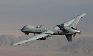 MQ-9 Reaper drone armed with GBU-12 Paveway II bombs