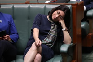 Terri Butler during an extended question time in the house of representatives in parliament house