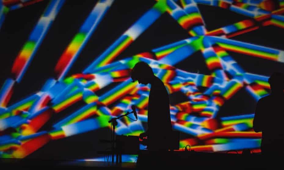 Visible Cloaks performing at Semibreve 2017.