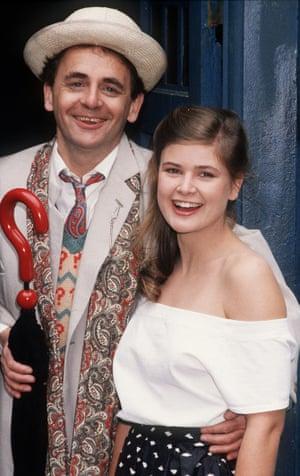 Sylv McCoy and Sophie Aldred
