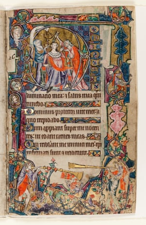 The Macclesfield Psalter c. 1330 – 1340 The Anointing of David East Anglia (probably Norwich), England The Macclesfield Psalter, The Anointing of David, England, East Anglia, probably Norwich, c.1330-1340