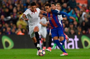Barcelona v Sevilla: La Liga – live | Football | The Guardian