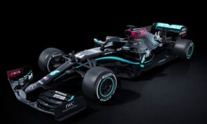 Mercedes' black livery is a commitment to fighting racism.