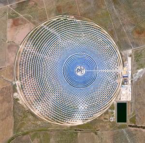 Gemasolar Solar Concentrator in Seville, Spain