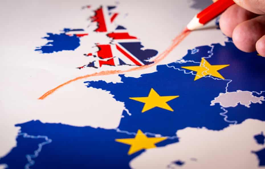 The United Kingdom leaves the EU on 31 January 2020.