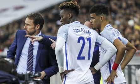 Gareth Southgate prepares to bring on Tammy Abraham and Dominic Solanke against Brazil but has the World Cup come too soon for the young strikers?