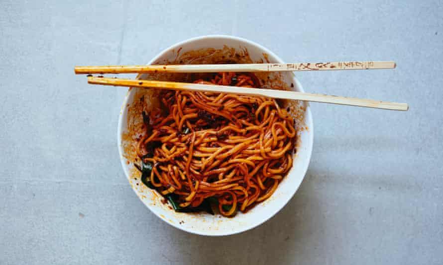 Fuchsia Dunlop's traditional dandan noodles – dandan mian.