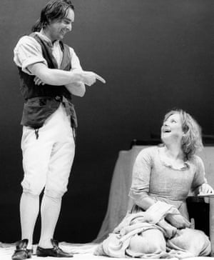 Ron Cook and Lesley Sharp in Our Country's Good by Timberlake Wertenbaker.