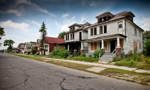 Of Detroit's 300,000-odd buildings, an estimated 70,000 currently stand empty.