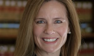 Amy Coney Barrett, in a picture provided by Notre Dame Law School.