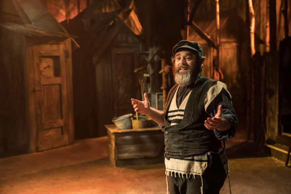 Andy Nyman as Tevye in Fiddler on the Roof.