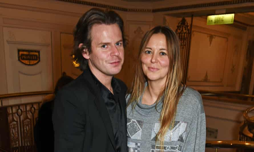 Christopher Kane (L) and Tammy Kane, the brother and sister fashion team
