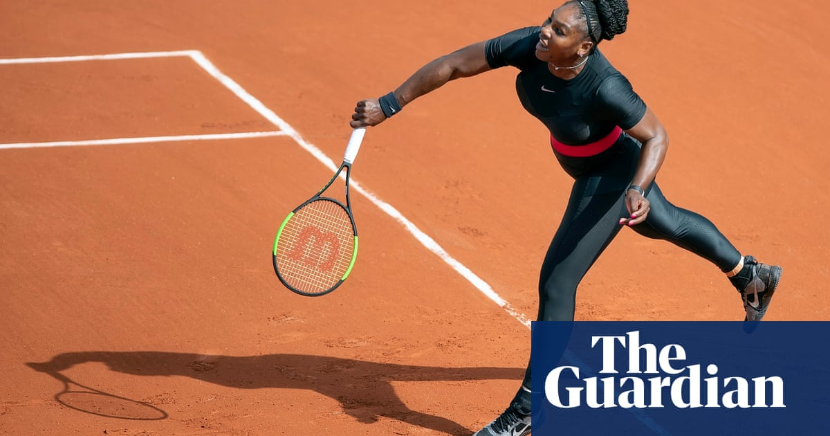 a2fe750e6 Serena Williams on her  Black Panther  catsuit   It s my way of being a  superhero
