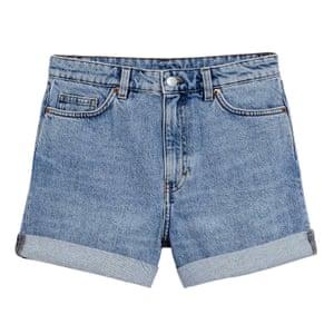 Denim shorts, £25, monki.com.