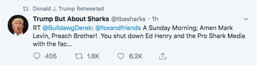 The tweet in question.
