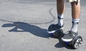 Hoverboard mall explosion Washington