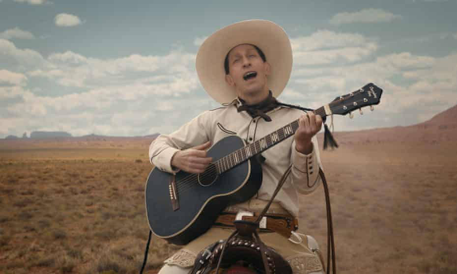 Tim Blake Nelson as the title character in The Ballad of Buster Scruggs.