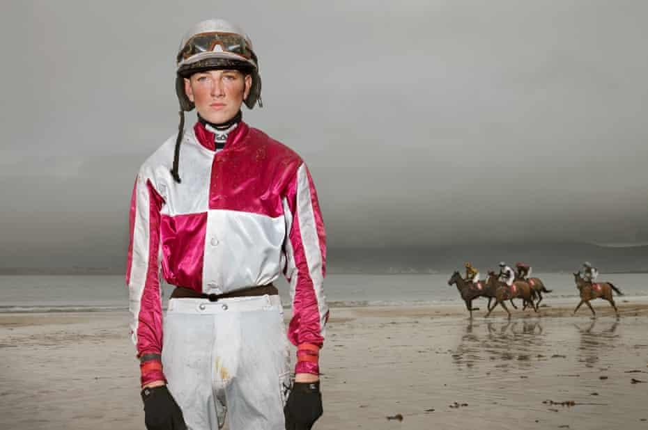 Young jockey Brian Dunleavy, 17