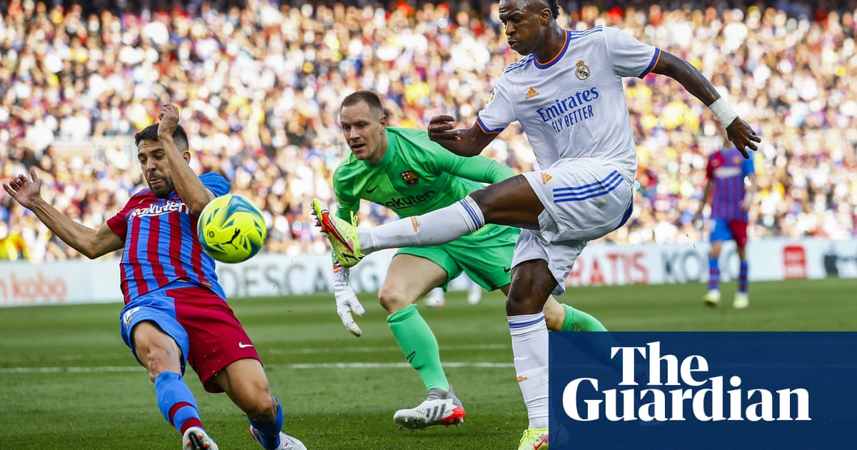 Vinícius too hot for Barça to handle in a clásico that was far from classic