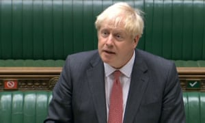 Boris Johnson's claims of EU threats making the bill necessary drew incredulity from the shadow business secretary, Ed Miliband.