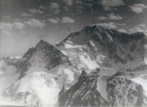 An old Soviet picture of a Krygz mountain range