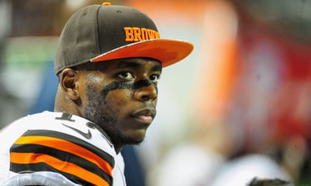 Josh Gordon of the Cleveland Browns fell foul of the NFL's rules on marijuana