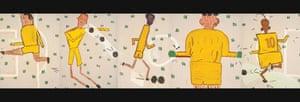Rose Wylie, 'Yellow Strip', 2006