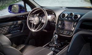 Inside story: it takes at least 130 hours to handcraft the Bentayga's luxury interior