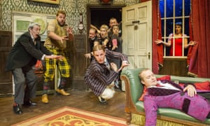 The Play That Goes Wrong at the Duchess theatre in London