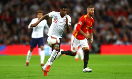 Marcus Rashford shines but ruthless Spain teach England harsh lessons | Dominic Fifield