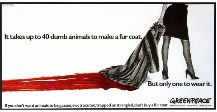 cf999f47218 If you wear fake fur, you are dressing up as an animal killer   Chas  Newkey-Burden   Opinion   The Guardian
