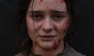 Avenging angel … Aisling Franciosi in The Nightingale.
