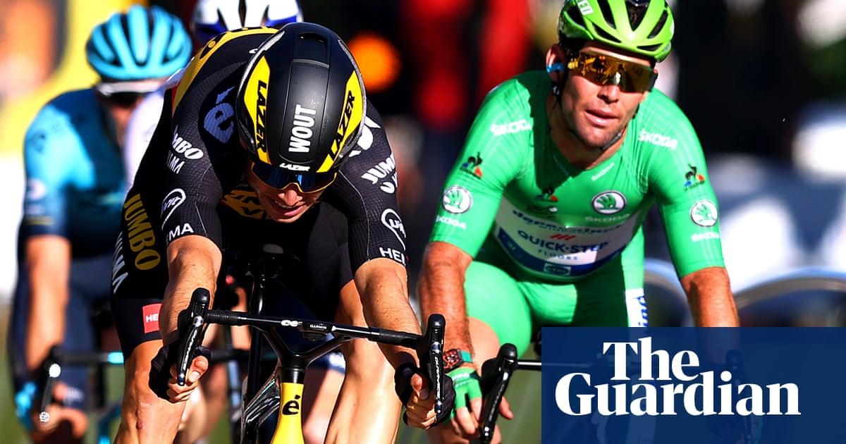 Cavendish fails to break Tour de France stage record as Pogacar seals title
