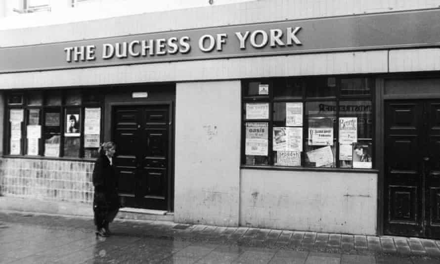 The former Duchess of York frontage.